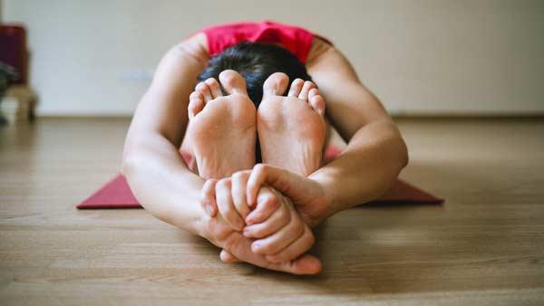 yoga seated forward pose
