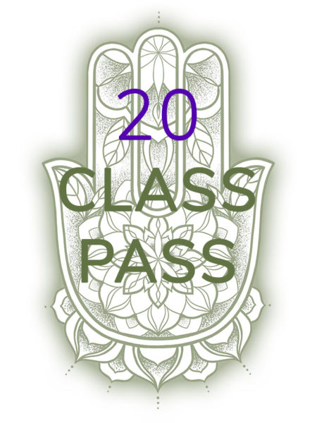 20 class pass for yoga classes