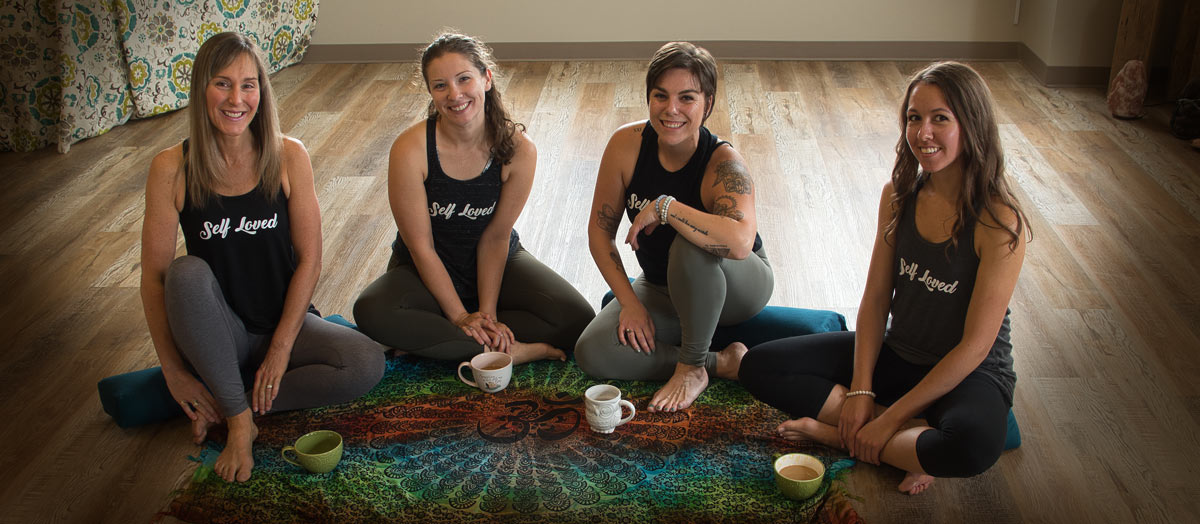 Team of Yoga teachers at Anahata Yoga from the Heart in Barrie Ontario