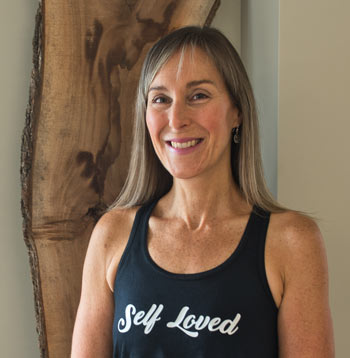 Yoga teacher at Anahata Yoga from the Heart